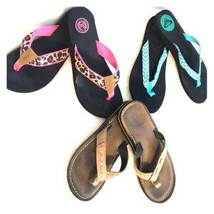 Bundle of flip flops